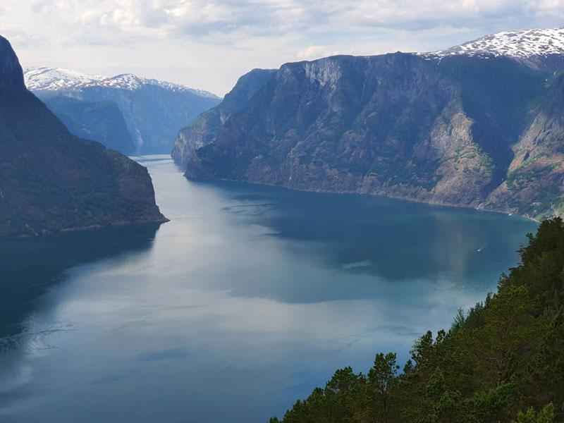 ノルウェー国内旅行記1 雪景色とフィヨルド
