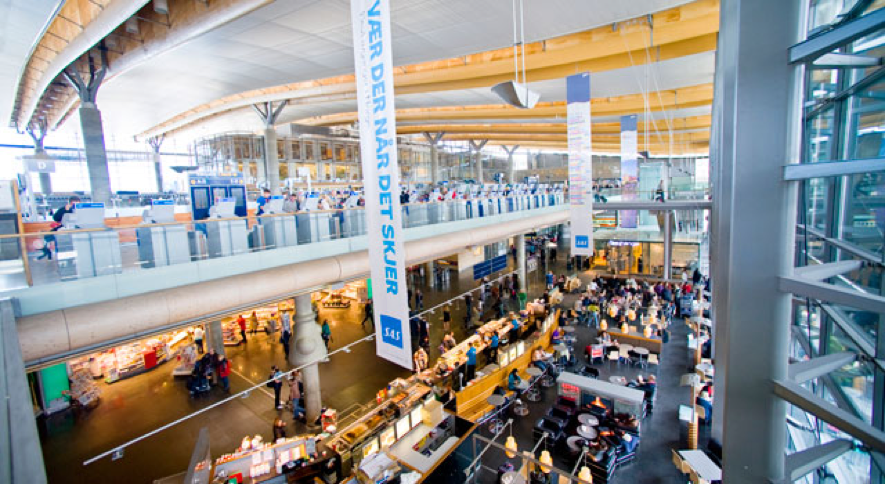 oslo-airport ノルウェー語ができなくても大丈夫 オスロ空港ってこんなところ 到着編