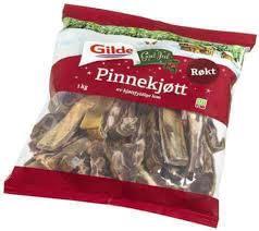 pinnekjott ノルウェーの伝統料理 ピンネショット PINNEKJØTT